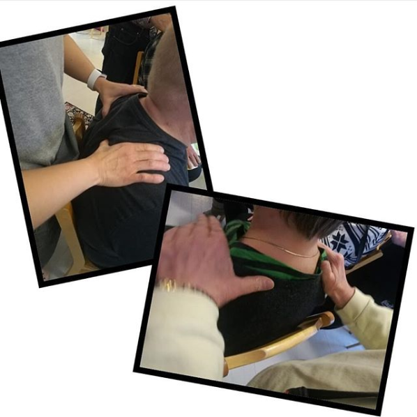 """Screenshot_2018-11-27 suvimaenklubitalo sanoo Instagramissa """"Perjantaina pidettiin huolta mielen hyvinvoinnista hartioita [...]"""